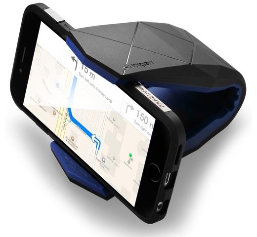 【64%オフ】Spigenのスマートフォン用車載ホルダー「ステルス」、Amazonで期間限定特価セール