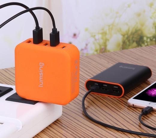 Lumsing AC充電器 USB急速充電器