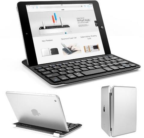 Anker iPad mini ウルトラスリムキーボードカバー