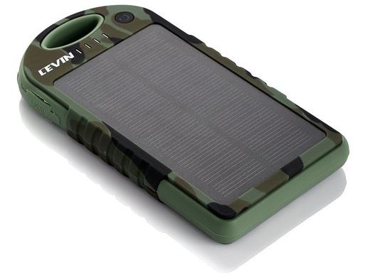 LEVIN 12000 mAh iPhone/Androidモバイルソーラーチャージャー