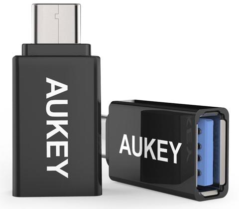 Aukey USB3.0 USB(メス) to Type-Cアダプタ