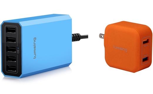 Lumsing USB充電器