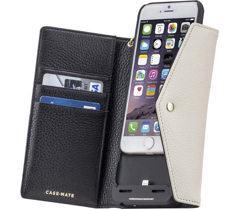 Case-Mate iPhone6s / iPhone6 Charging Folio Wristlet Case