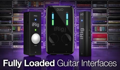 IK創立20周年記念Fully Loaded Guitar Interfacesプロモーション
