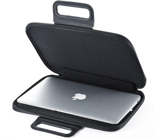 サンワサプライ、MacBook Air / MacBook Pro用の衝撃吸収インナーケースを発売