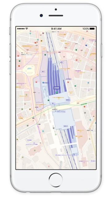 iOS マップ