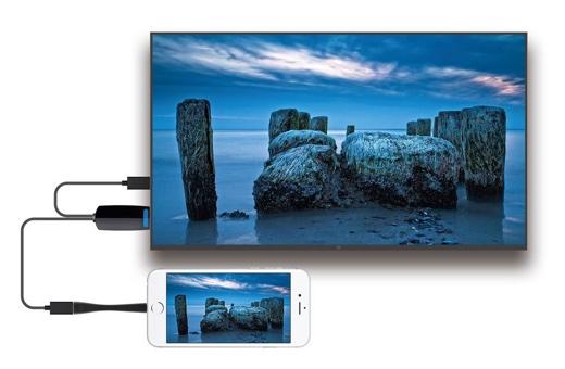 iPhone/iPadの映像をテレビなどに出力するLightning – HDMI変換ケーブルが、Amazonタイムセールで2,388円