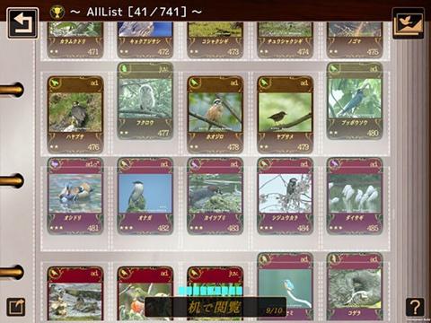 500の野鳥動画を収録したiPhone/iPadアプリ「動く 野鳥コレクション」