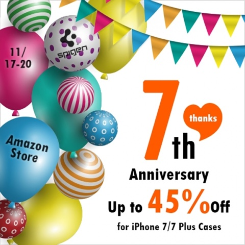 Spigen 7th Anniversary
