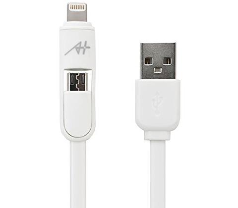 A+ 2 in 1 ケーブル Lightning & Micro USB