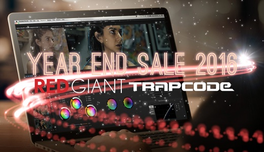 Red Giant / Trapcode Year End Sale 2016