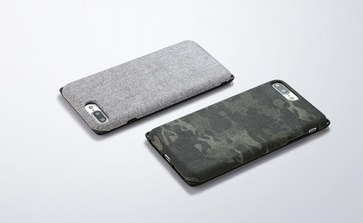 [Fablex] Shock Absorbing Fabric Case for iPhone 7 Plus