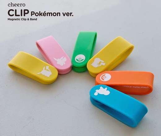 cheero CLIP Pokemon version