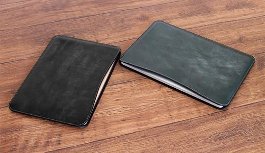 職人が作るレザースリーブ for 13インチMacBook Pro Thin Fitモデル