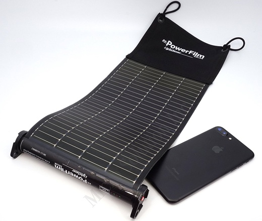 PowerFilm Solar LightSaver USB Roll-up Solar Charger and Battery Bank
