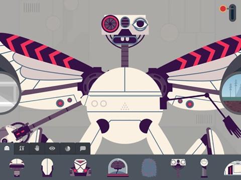 タイニーバップのロボット工場