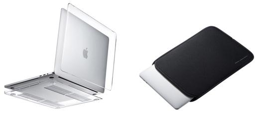 サンワサプライ、13インチMacBook Pro専用のハードシェルカバーとインナーケースを発売