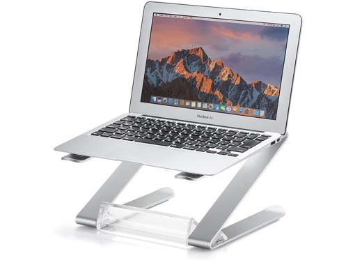 サンワサプライ、アルミニウムとアクリルを使用したノートパソコンスタンドをWeb限定発売