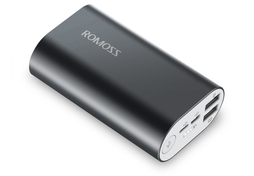 ROMOSS 10000mAh モバイルバッテリー