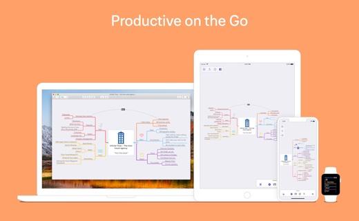 マインドマップ作成アプリの新バージョン「MindNode 5」が登場、Mac版とiOS版