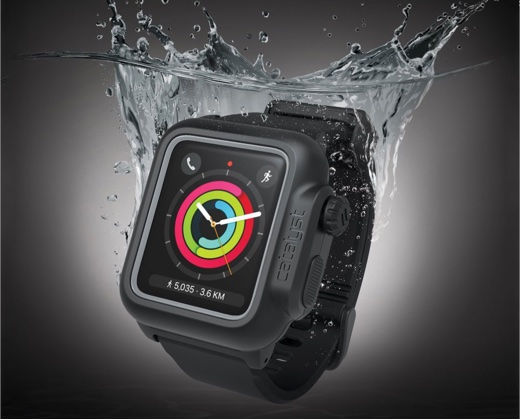 Catalyst、Apple Watch Series 2/3に対応した完全防水ケースを発売