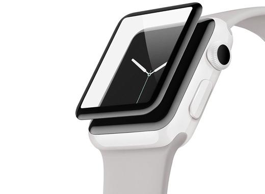 ベルキン、カーブ形状でフチまで守るApple Watchスクリーンプロテクターを発売