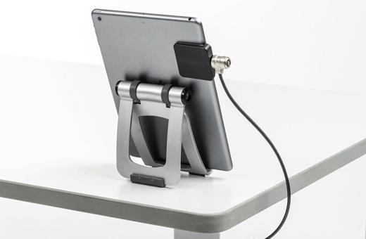 サンワサプライ、iPadなどに盗難防止ワイヤーを取り付けできる補助部品4製品をWeb限定販売