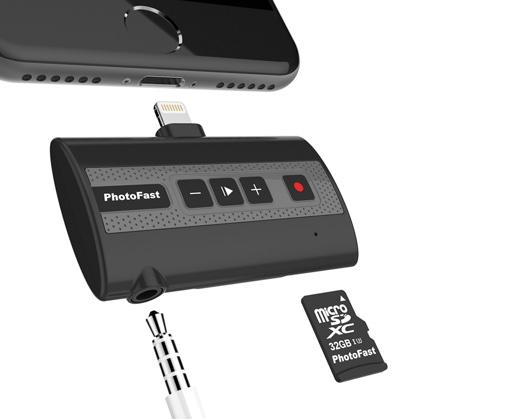 リンクス、Lightning接続でiPhoneの通話を録音できる「PhotoFast Call Recorder X」を発売