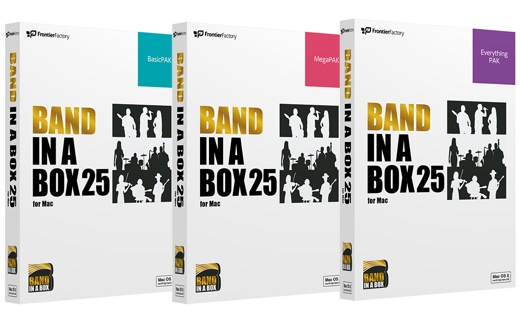 Band-in-a-Box 25 for Mac