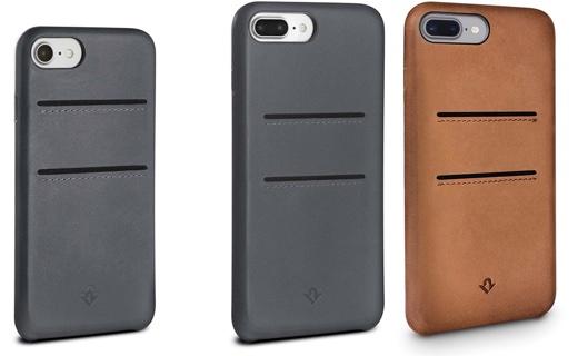 フォーカル、カードスロットを搭載した本革製iPhone 8/ 8 Plus背面ケース「Twelve South Relaxed Leather」を発売