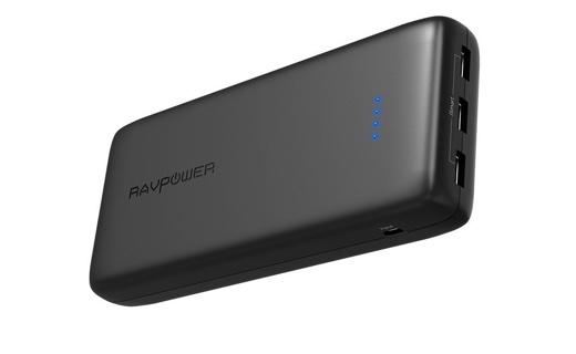 大容量32,000mAhのモバイルバッテリー「RAVPower RP-PB064」、Amazonタイムセールで23:45まで20%オフ