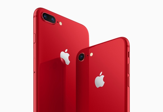 Apple、iPhone 8 /8 Plus (PRODUCT)RED Special Editionを4月13日に発売 – 4月10日21:30予約開始