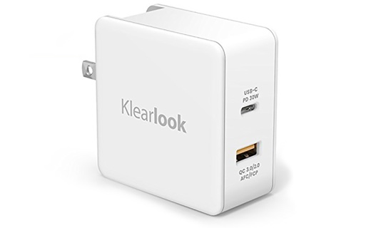 30WのPD対応USB-CとQC 3.0対応USB-Aポートを搭載した電源アダプタが、10時までAmazonタイムセールで2,339円