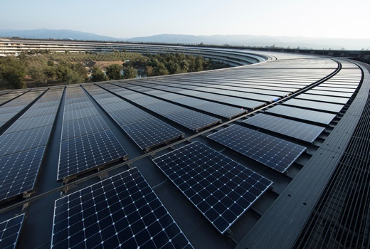 Renewable Energy Apple Ap Solar Panels