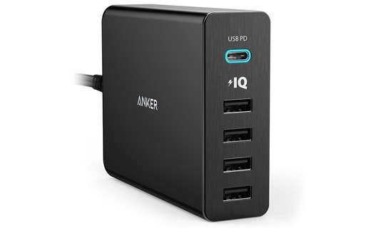 Anker PowerPort+ 5 USB-C Power Delivery 60W