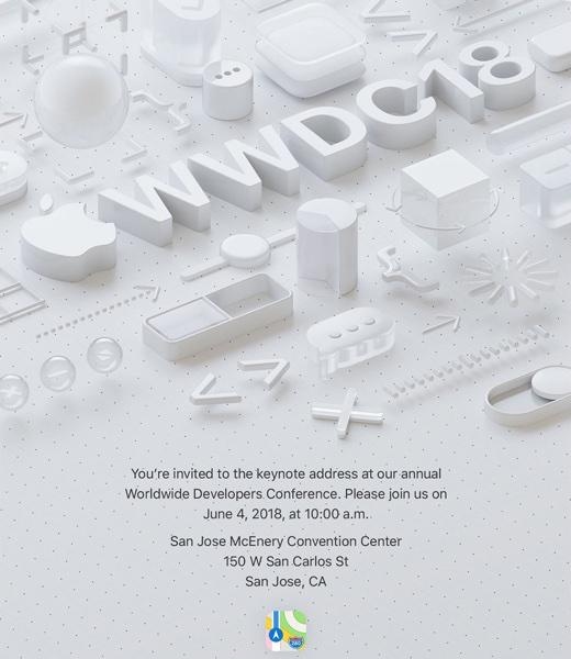 WWDC 2018基調講演