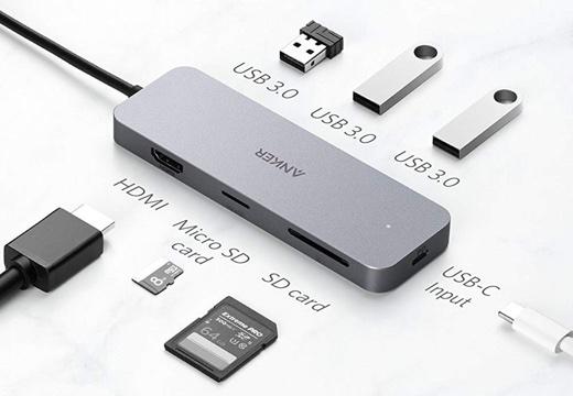 Anker、7つのポートを搭載したUSB-Cハブ「Anker 7 in-1 プレミアム USB-Cハブ」を発売