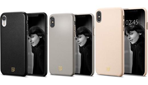 Spigen、高級感のある革素材を採用したiPhone XR / XS / XS Max対応ケース「カラン」を発売