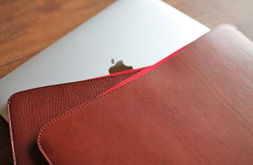 国立商店、「職人が作るレザースリーブ」の新MacBook Air対応モデルを発売