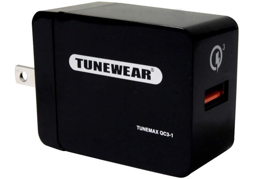 TUNEMAX 急速充電小型アダプタ QC3-1