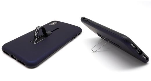 マイクロソリューション、収納可能なバンカーベルト+スタンド付きのiPhoneケースを発売