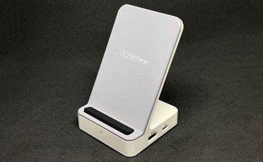 【レビュー】QiワイヤレスもPDもQCも全部対応する充電器「マイクロソリューション マルチファンクションワイヤレス充電器」
