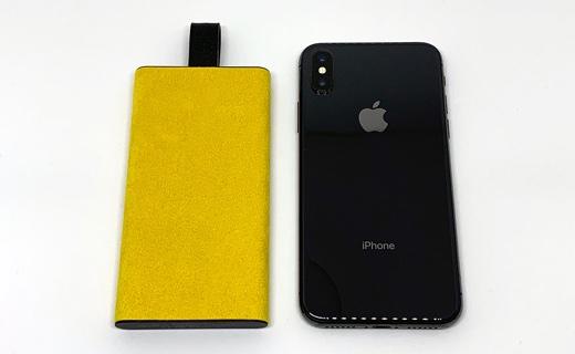 iPhone Xとの大きさ比較