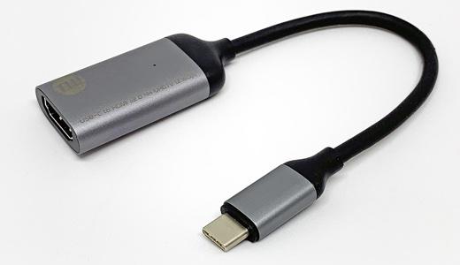 TUNWEAR USB-C to HDMI v2.0 4K UHDTV変換アダプタ