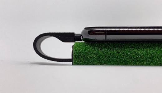 人工芝とiPhone