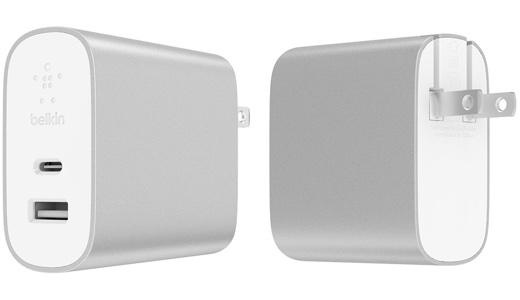 BOOST↑CHARGE USB充電器(27W USB-C + 12W USB-A)