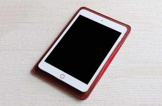 職人が作るレザースリーブ iPad mini用