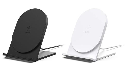 ベルキン、スタンド型ワイヤレス充電器のエントリーモデル「BOOST↑UP ワイヤレス充電スタンド (5W)」を発売