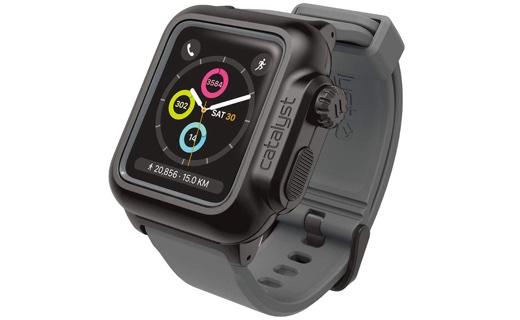 カタリスト 完全防水ケース for Apple Watch Series 2/3, 42mm ブラックグレー