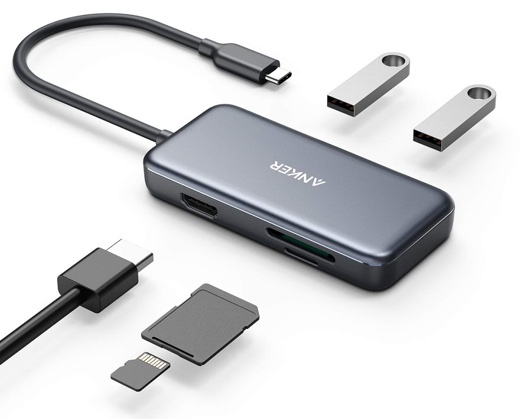 Anker 5-in-1 プレミアム USB-Cハブ